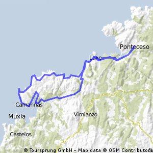 Costa GALEGA TR3 PONTECESO-CAMARIÑAS-P.PORTO