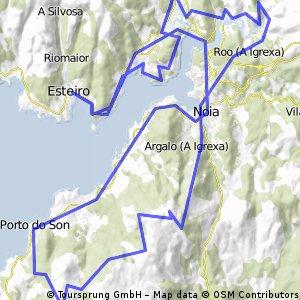 Costa GALEGA TR6 ESTEIRO-PORTO DO SON