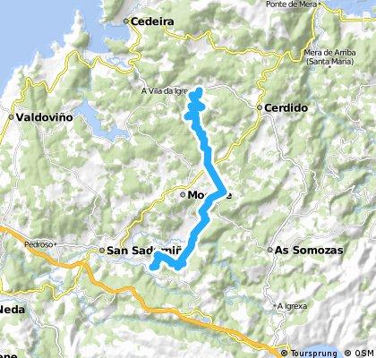 Ruta do Medioevo GR 50 (BTT) TR 4 CAMA S.V.-CERDIDO
