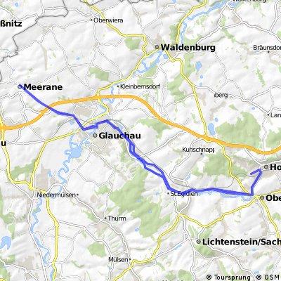Radtour HOT - Meerane