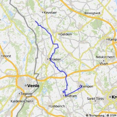 Tagestour:  Kempen - Twisteden