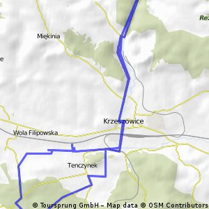 [GPS] II Jurajska Majówka Rowerowa - dzień1