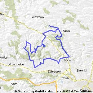[GPS] II Jurajska Majówka Rowerowa - dzień 2