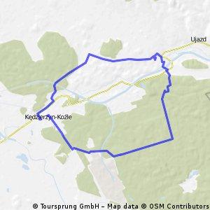 [GPS] Dookoła Kędzierzyna