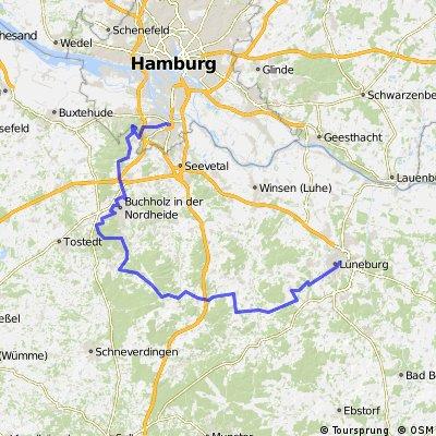 Harburg - Lüneburg mit Hügeln CLONED FROM ROUTE 58411