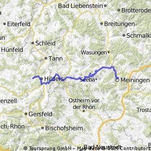 1.Tag:Meiningen-Hilders/Eckweisbach