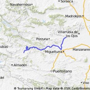 ETAPA Malagòn - Seceruela (116,0 Km.)