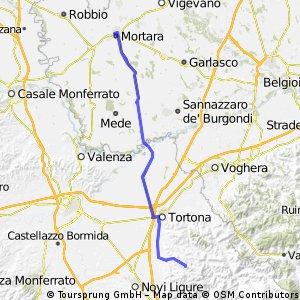 Mortara-Castellania-Mortara