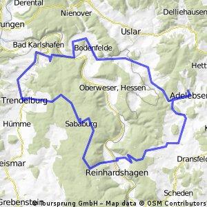 Tour im Reinhardswald