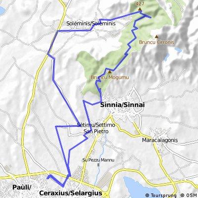 Selargius-Sinnai-Monti Arrubiu