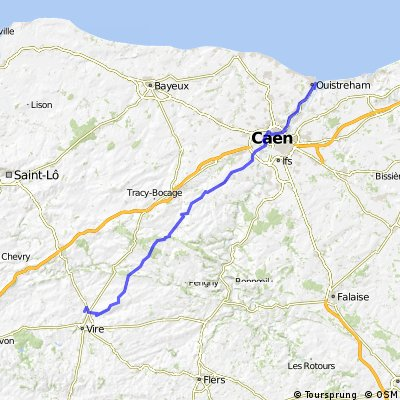 stage 1 caen to vire