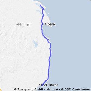 Huron- Day 17- Tawas to Presque Isle