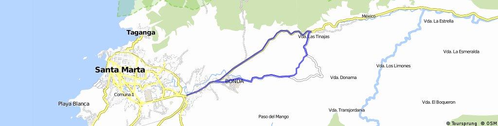 LA MBS - Agua Viva - Las Tinajas - Cuesta Rodriguez