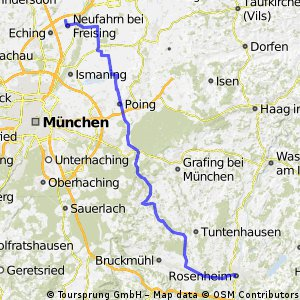 Neufahrn - Rosenheim