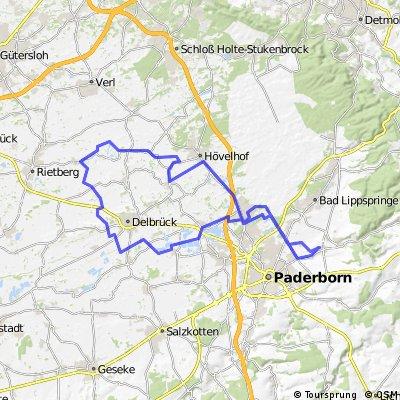 Steinhorster Becken und um Delbrück