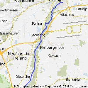 Freising-Lerchenfeld - Forschungszentrum Garching