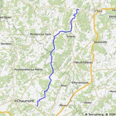 Dag 4 Pagny sur Messe Beze 184km.gpx