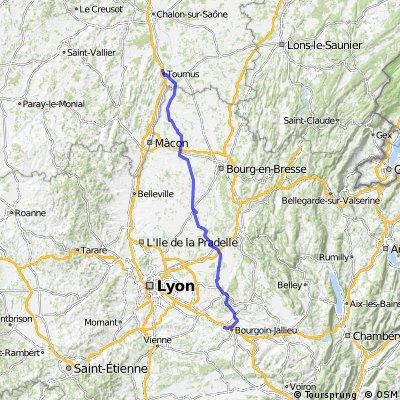 Dag 6 Tournus Bourgion 148km.gpx