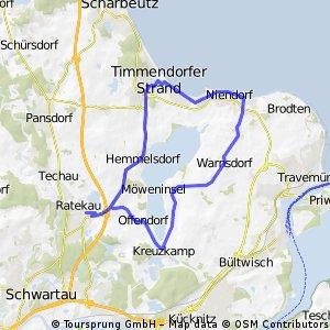 Familienfreundliche Rundtour um den Hemmelsdorfer See CLONED FROM ROUTE 62466