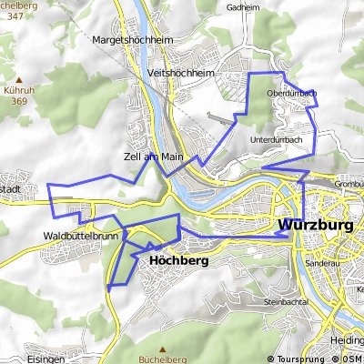 Rundkurs: Hettstadt - Marinburg