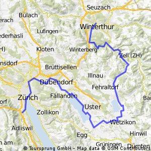 Wollishofen nach Winterthur (Der Weg ist das Ziel)