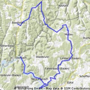 Tagestour Beerfelden-Eberbach