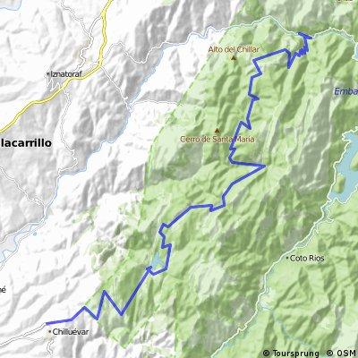 Sierra Segura Las Villas (Chilluevar al Charco del Aceite)