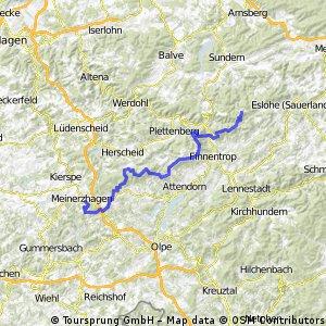 Sauerland Höhenflug 1. Teil Meinerzhagen