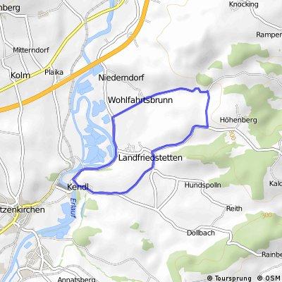 Minirunde Kendl - Hosinghof - Kendl