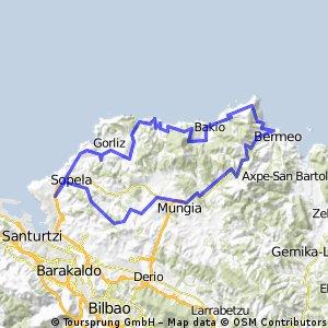 Berango-Berango via Bermeo