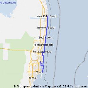 Gold coast bicycle trip