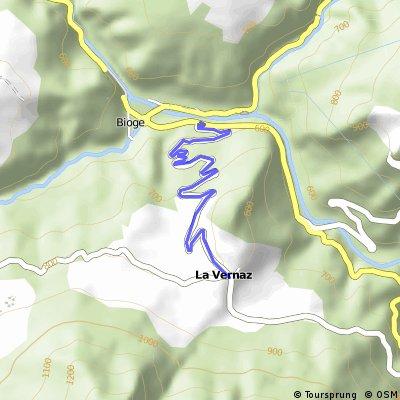 Cycling the Alps Côte de la Vernaz (0807m)