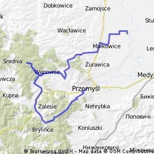 Przemyśl - Karsiczyn - Hołubla -Niziny
