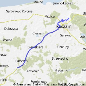 Koszalin-rozjazd Białogard