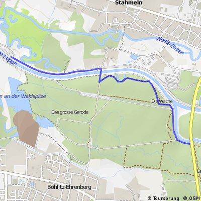 Fortsetzung Einradtour Nahle/Neue Luppe 1.6.2012