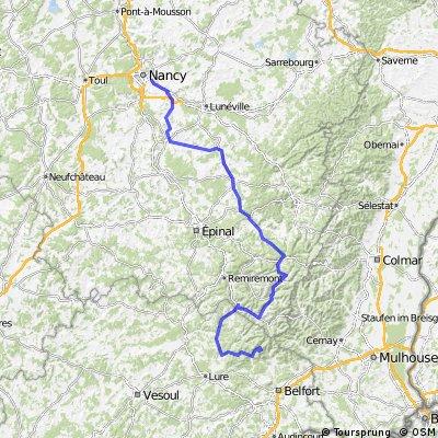 Etappe 07 Tour de France 2012 von Tomblaine nach La Planche des Belles Filles