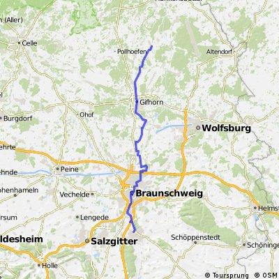 Wolfenbüttel - Wahrenholz über Braunschweig, Gifhorn