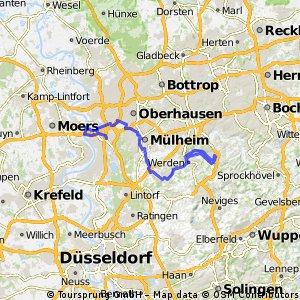 Ruhrtal-Radweg von Mündung bis Werden