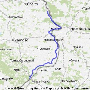 Wschodnia granica Polski - Etap III
