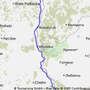 Wschodnia granica Polski - Etap IV