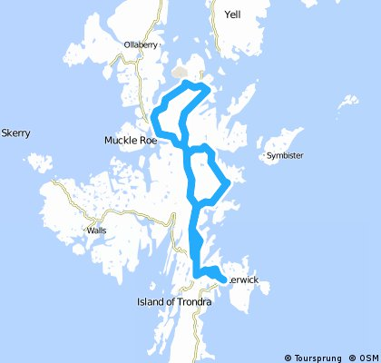 Shetland North 100k