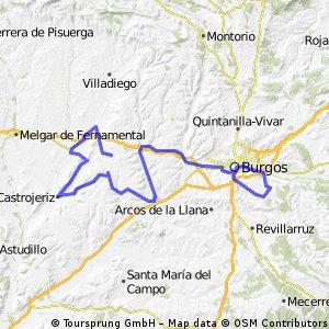 Burgos-San Pedro Cardeña-Yudego