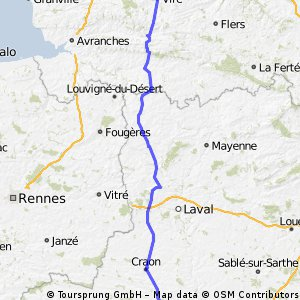 stage 2 Vire to Segre