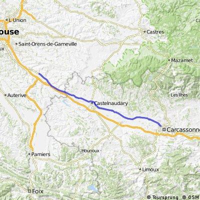 Villlenouvelle to Carcassonne 2