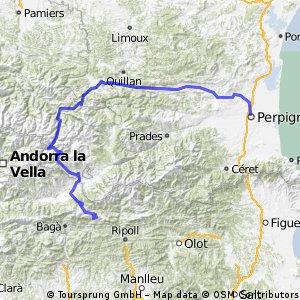 Castellar de n'Hug to Perpignan - Long