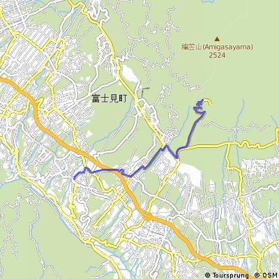 Shinanosakai to Kannondaira