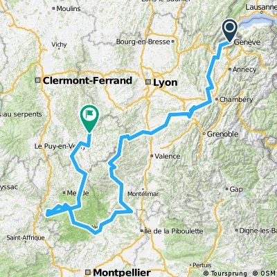 Genève-Ardèche-Cévennes