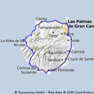 Around Gran Canaria