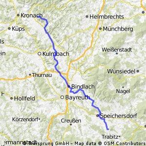 Von Neustadt a.K. bis zur Radspitze