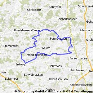 Landkreis Dachau Lange Tour